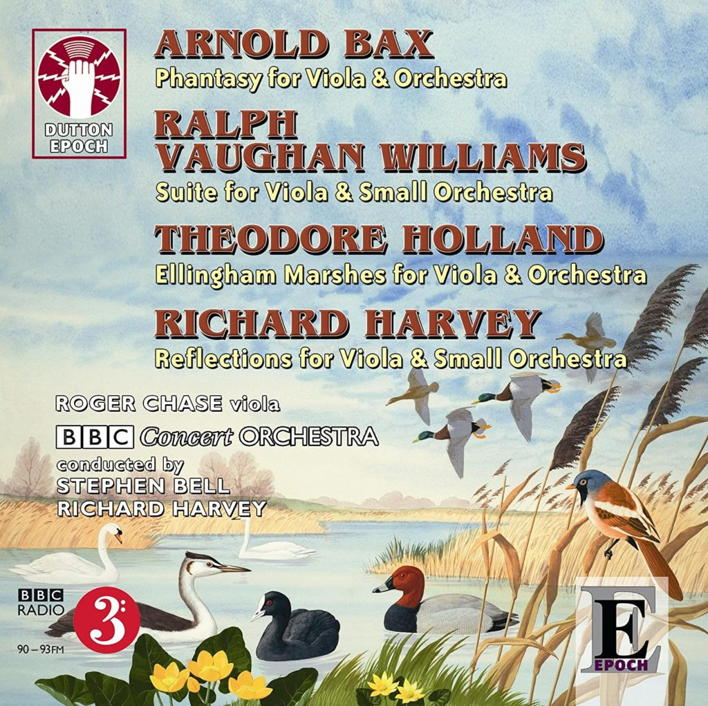 Bax, Vaughan Williams, Holland, and Harvey: Viola Concertos