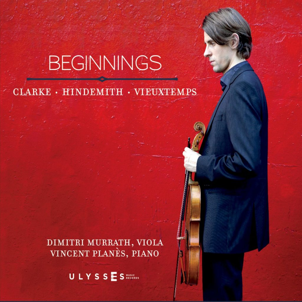 Beginnings: Clarke, Hidemith, Vieuxtemps