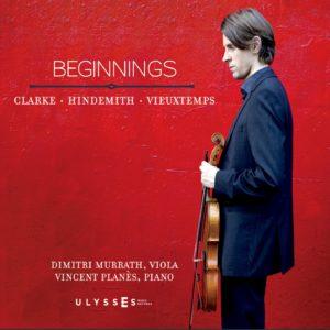 Beginnings: Clarke, Hidemith, Vieuxtemps