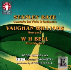 Stanley Bate, Vaughan Williams, and W H Bell